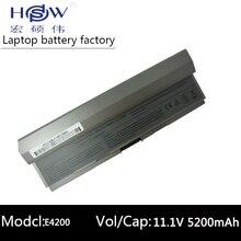 6cells battery for Dell Latitude E4200,Latitude E4200n 0F586J,0R331H,0R640C,0R839C,0R840C,0R841C,0U444C,0W341C,0W343C,