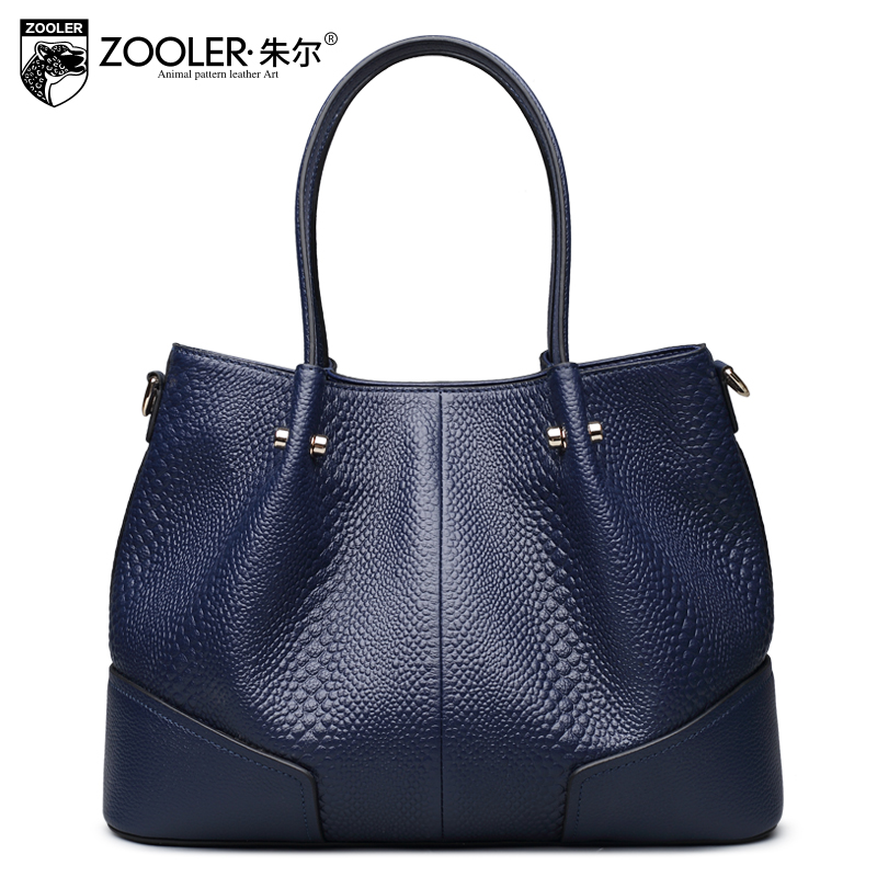 ZOOLER bags for women 2018 new genuine leather bags luxury handbags women bags designer  bolsa feminina#6189
