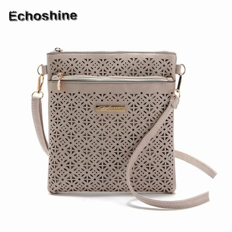 2016 personblity Women Adjustable straps Messenger Bags Hollow Out Crossbody Bags Shoulder Purse Handbags gift wholesale A2000