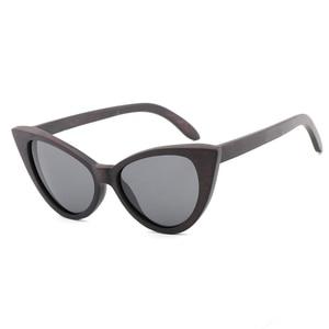 Image 3 - Ms. du mu hei polarizando óculos de sol personalidade na moda borboleta polarizando lente uv400 óculos anti ultravioleta