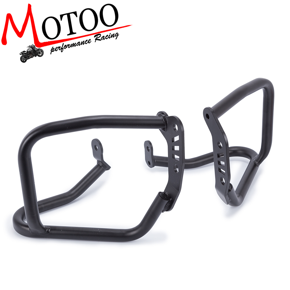 Motoo- For BMW R1200 R NINE T 2014 2015 2016 Motorcycle Accessories Engine Protetive Guard Crash Bar Protector 2017 high quality for bmw r1200gs 2013 2014 2015 motorcycle upper engine guard highway crash bar protector silver