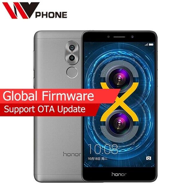 Original Huawei Honor 6X 3G RAM 32G ROM Dual Rear Camera 4G LTE Mobile Phone Octa Core 5.5 Inch 1920x1080P Fringerprint
