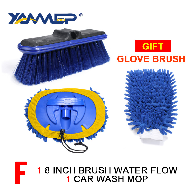 Color : Blue Brushes & Dusters Car Wash Brush Brush Car Foam Soft Brush Cleaning Supplies Water Brush
