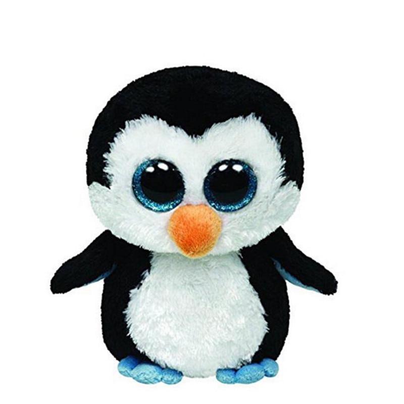 Ty Bere Boos Orijinal Büyük Gözleri Peluş Oyuncak Bebek Çocuk Doğum Günü penguen TY Bebek 16 Cm Penguen Köpek Panda Unicorn Ayı Oyuncak L47