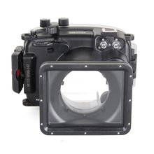 Meikon 40m/130ft Underwater Diving Camera Housing for Fujifilm X-A2 Camera with16-50mm lens