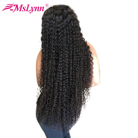 Mslynn Deep Wave Lace Front Wigs Human Hair Wigs For Women Brazilian Hair With Baby Hair 10 26 Non Remy 130% Natural Color