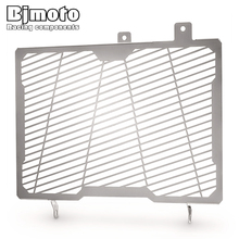 BJMOTO Radiator Grill Grille Cover Guard For SUZUKI Vstrom V-STROM 650XT 2017-2018 Motorcycle Steel Protector new stainless steel motorcycle accessories radiator guard cover grille grill fuel tank protector for r3 2015 2016 free shipping