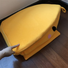 New Pet Dog House Cute Yellow Chicken Design Kennel Warm Dog Bed Mat Pet Cat Bed For Small Medium Dogs Bed S M