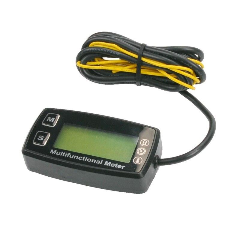 Top end Digital Hour meter Tachometer with Spark Plus