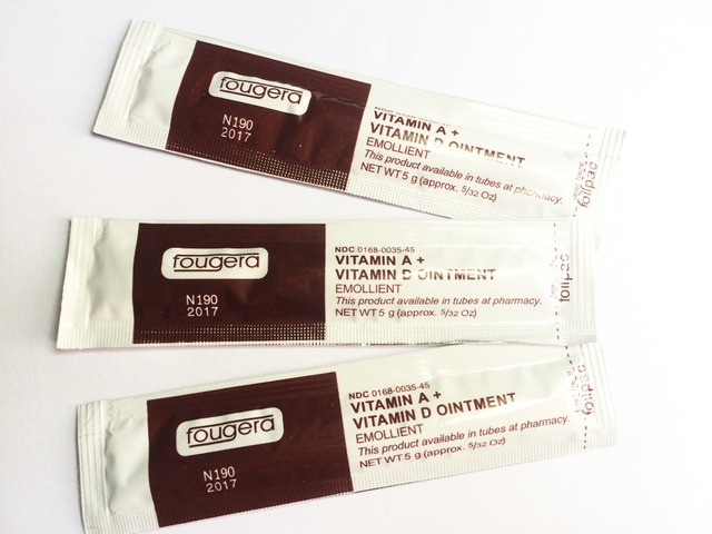 100pcslot Tattoo Recovery Cream Vitamin Ad Ointment Anti Scar