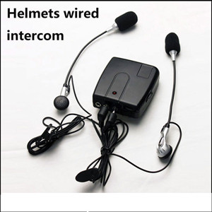 Helmet Wired Walkie Talkie ..