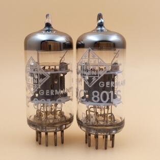 2PCS/LOT NEW DIY HIFI Telefunken  tube ECC801S 12AT7 ECC81 6201 2pcs lot diy hifi tube 5u4gb rca5u4gb 5u4 usa