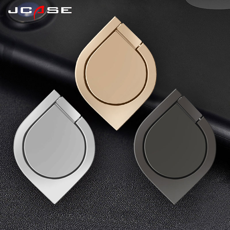 Jcase General Phone finger ring holder 360 Degree stand for iPhone X 7 6 plus Samsung Xiao