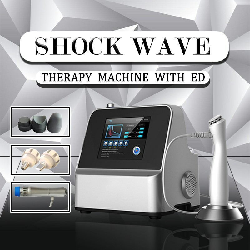 Protable Professional ESWT Radial Shockwave Therapy Equipment For Fat Removal Pain Relief And Cellulite Reduction Treatment