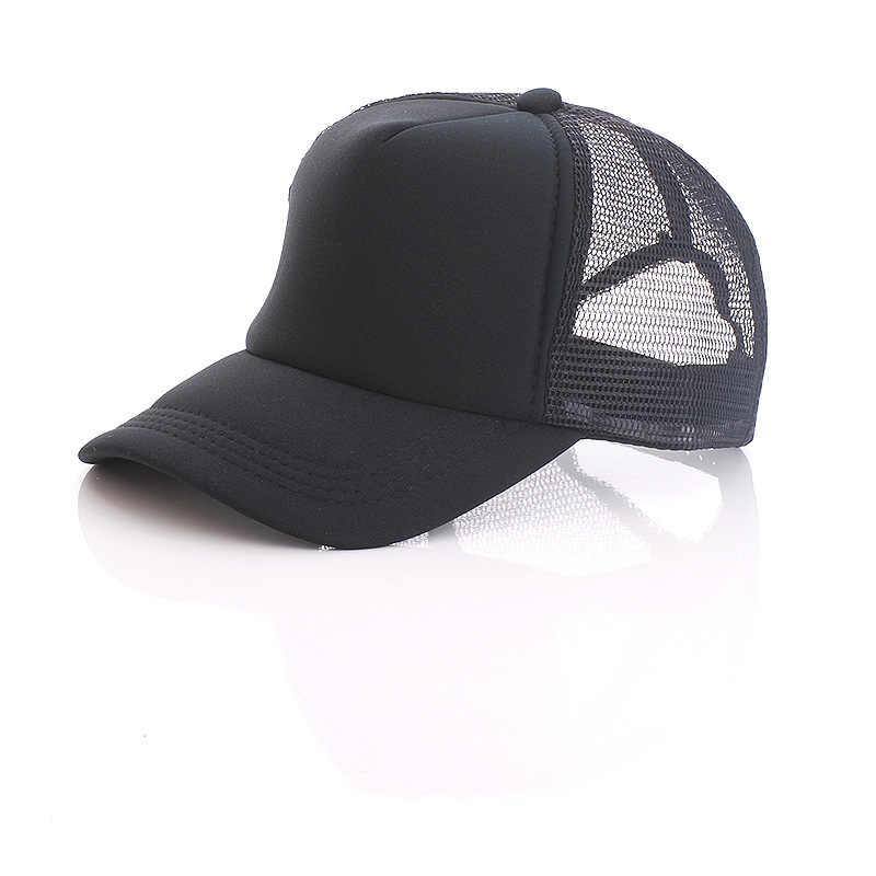 10240a79ea7aca ... 1 PCS Free Custom Logo Baseball Cap Adult Child Personality DIY Design Trucker  Hat 100% ...