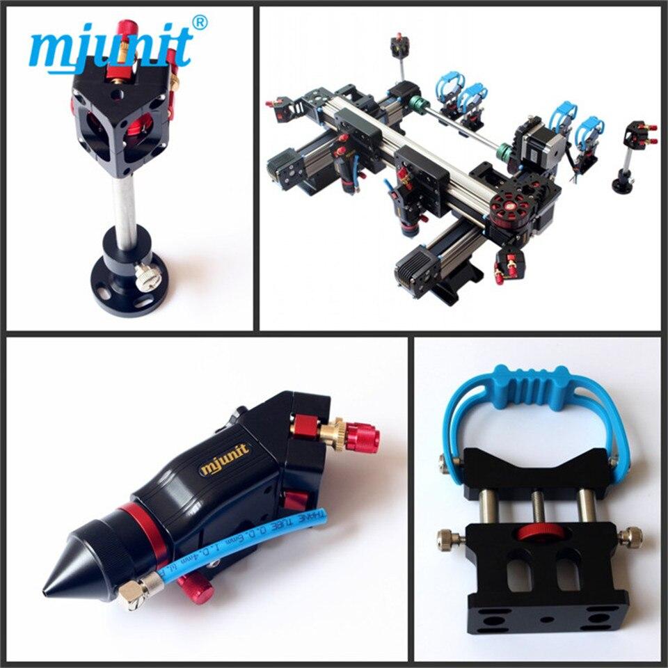 MJUNIT belt drive linear guide rail cnc rail for machine components CO2 laser mechanical parts whole set