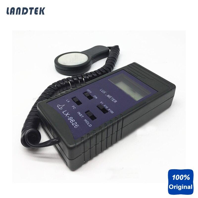 Portable Lux Meter Digital Light Meter LX-9626 brand new professional digital lux meter digital light meter lx1010b 100000 lux original retail package free shipping