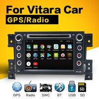 octa core 2 din android 9.0 1024*600 car dvd for suzuki grand vitara multimedia car radio stereo gps with steering wheel control