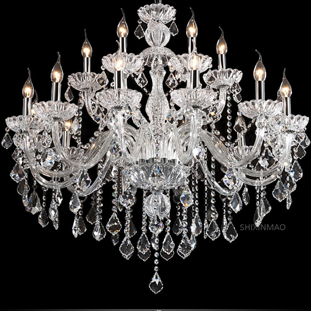 SHIXNIMAO free shipping Deluxe Crystal Chandelier Fashion crystal chandelier crystal chandelier