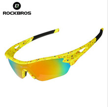 ROCKBROS Cycling Glasses Men Women's Outdoor Sports Bike Bicycle Glasses Colorful Windproof Riding Eyewear Sunglasses