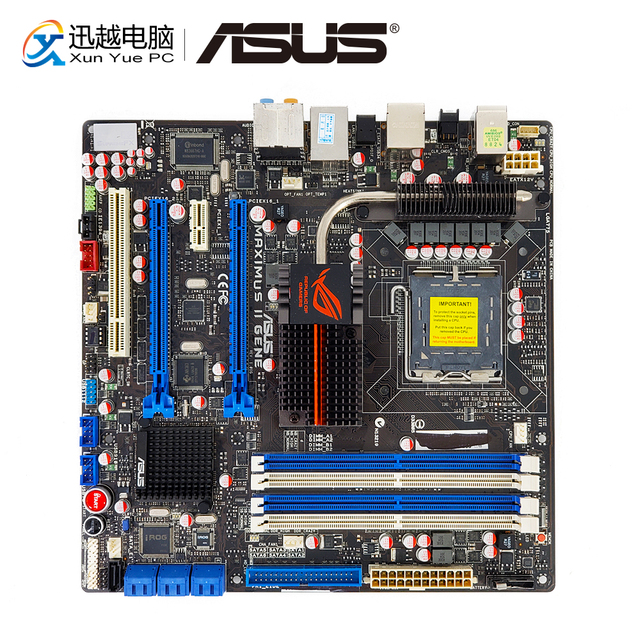ASUS MAXIMUS II GENE DRIVERS FOR WINDOWS 10