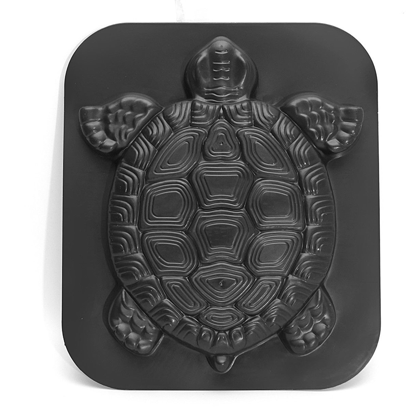 Image 4 - Turtle Stepping Stone Mold Tortoise Path Walk Maker Pavement Concrete Cement MouldGarden Park Decoration-in Garden Floor Boards from Home & Garden