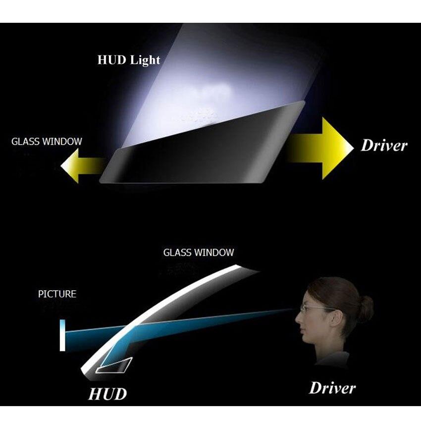 ActiSafety 2017 HUD Head up Voiture Projecteur Car Styling Lecteur Vitesse Auto-adaptatif De Voiture Carburant etc Paramètre D'affichage D'alarme système - 3