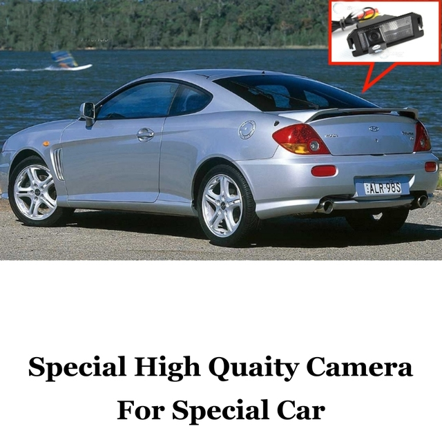 Car Camera For Hyundai Coupe S3 / Tuscani / Tiburon 2002~2008 High Quality Rear View Back Up Camera For Fans Use | RCA