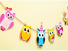 Owl Shaped Garland