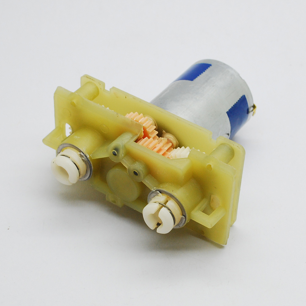 Mabuchi 380 motor worm gear reduction gear box DC 2V-6V 430RPM-1430RPM for DIY