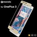 Original mocolo para oneplus 3 cobertura completa tela premium de vidro temperado protetor one plus 3 t 1 + 3 t para oneplus x oneplus 3 t