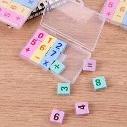 15 pçs/caixa número criativo lápis borracha borrachas para escritório escola artigos de papelaria suprimentos presente para crianças