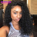 7A Afro Kinky Curly Full Lace Wigs Virgin Brazilian Glueless 180 Density Lace Front Wig Kinky Curly Full Lace Human Hair Wigs