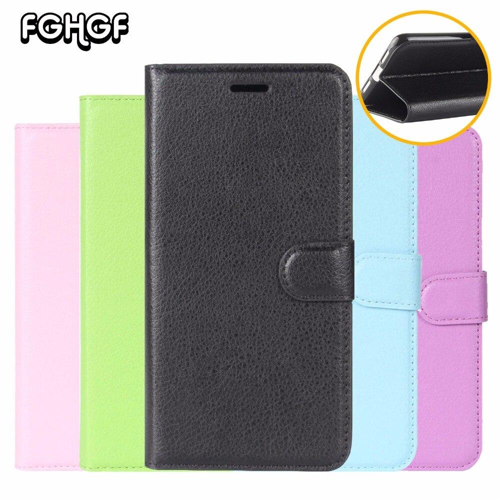 FGHGF Original Litchi Stripes Leather Cases For Xiaomi Mi Mix 2 Max 2 Case Flip Wallet Cover For Xiaomi Note 3 Case Cover Fundas
