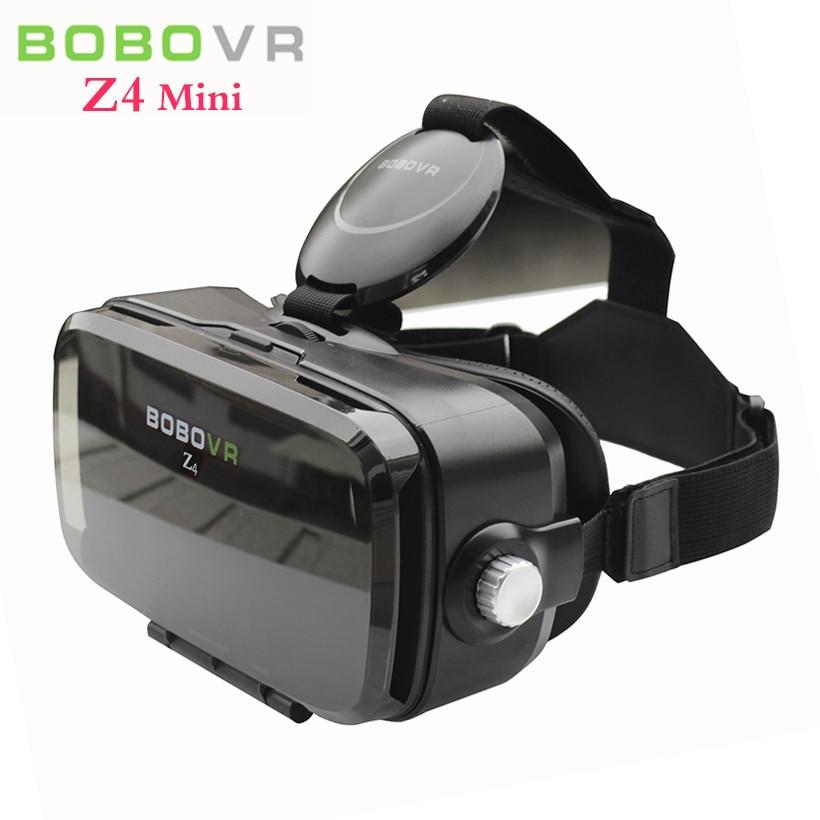 XIaozhai <font><b>BOBO</b></font> <font><b>VR</b></font> Z4 MINI 3D <font><b>Video</b></font> <font><b>Glasses</b></font> Helmet <font><b>VR</b></font> <font><b>Virtual</b></font> <font><b>Reality</b></font> Goggles Mobile 3D Cinema for iPhone&Huawei 4.7-6 Smart Phone