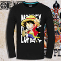 2017 anime ONE PIECE t-shirt cosplay LUFFY TONY camisa cheia T HU248 LEI 1 Peça