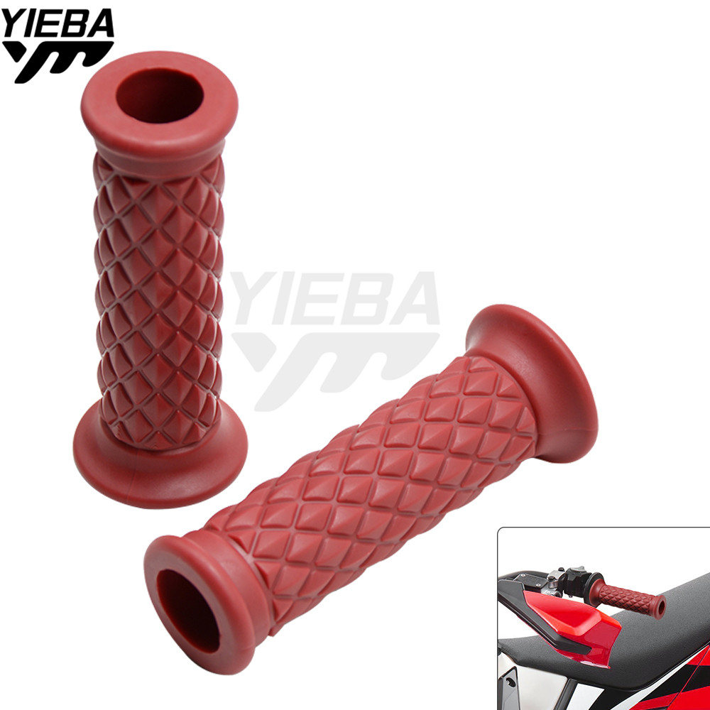 "Vintage Motorcycle Grips 7/8""22mm Handlebar Hand Grip and Bar Ends for honda XR230/MOTARD CRF230F CRF450X YAMAHA YFZ450 TTR 230"