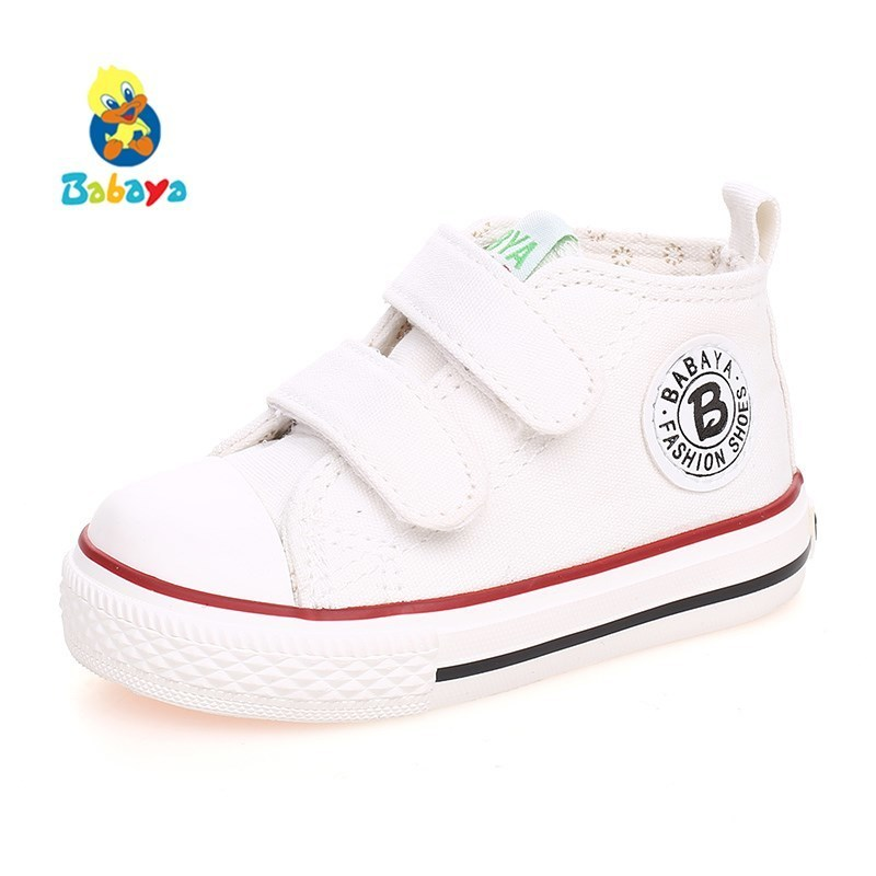 Canvas Shoes Baby-Girl Autumn Boys Little Fashion Children Spring High-Cotton-Made