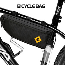 Bicycle Bag Triangle Bike Bags Frame Front Tube Cycling Waterproof Polyester Package Travel Riding accessories