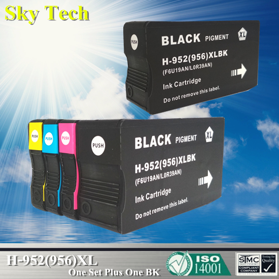 5X Compatible Cartridge For HP952XL HP956XL For HP OfficeJet Pro 7740 8210 8216 8702 8710 8715