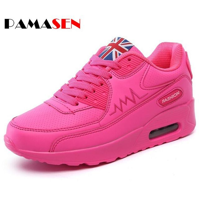 Hot Sale New 2017 Fashion Flats Women Trainers Breathable Sport Woman Shoes Casual Outdoor Walking Women Flats Zapatillas Mujer