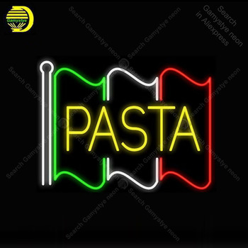Neon Signs for Pasta Bulbs Neon sign Restaurant Handcraft Beer BAR Lamp store display neon Letrero Neon enseigne lumine Handcraf