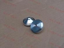 4 pcs 29*16mm de Alumínio de Prata pés speaker amplificador de Áudio CD player almofadas picos de Choque