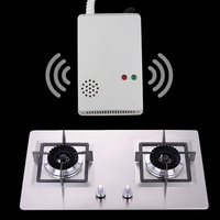 Gas Detector Wired Combustible Gas Sensor New LPG Natural Gas Leakage Detector Home Safe Sensor Alarms