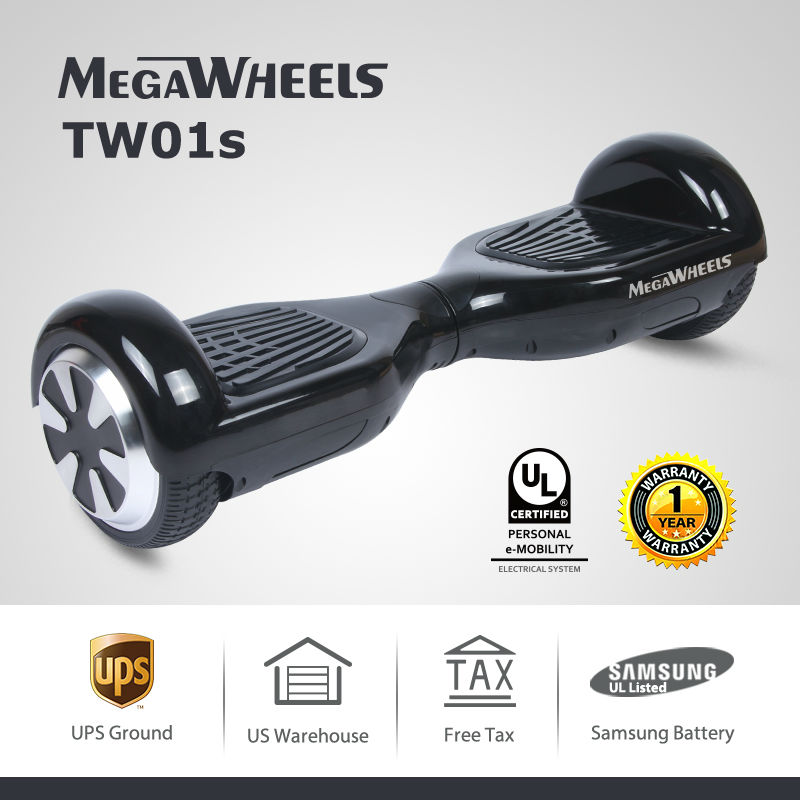 6 5 Two Wheels Self Balancing Scooter font b Hoverboard b font Electric Skateboard Samsung Battery