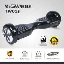 6.5″ Two Wheels Self Balancing Scooter Hoverboard Electric Skateboard Samsung Battery MegaWheels TW01s -Black