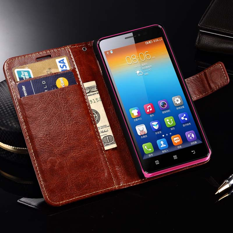 Luxury Flip Leather Case For...