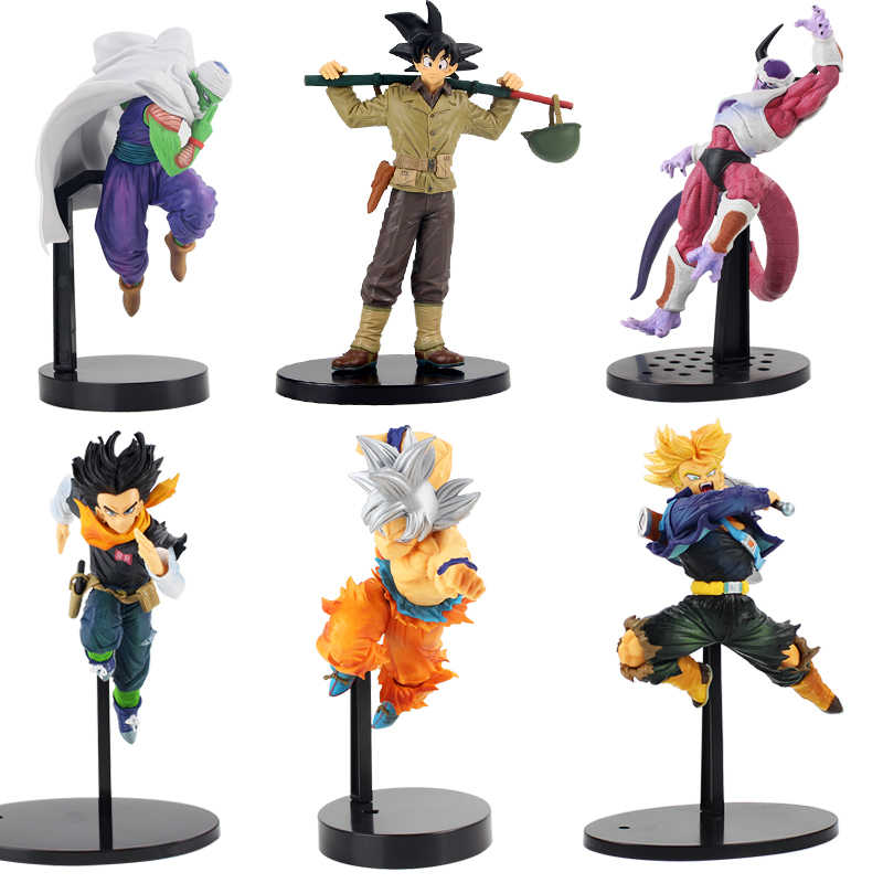Figuras De Dragon Ball Z Son Goku Trunks Piccolo BWFC Android 17 Celular Forma Final Mundial Coliseu Anime DBZ Brinquedos Modelo