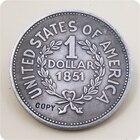 USA ONE DOLLAR 1851 ...