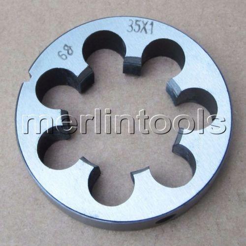 35mm x 1 Metric Right hand Thread Die M35 x 1.0mm Pitch